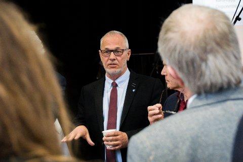 SKAL KJEMPE: Rune Høiseth understreker at det fortsatt er ti dager igjen til valget, og det er valgresultatet som teller. Ikke meningsmålinger.
