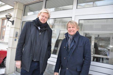 VIL ANKE: Grandkvartalet-investorene Finn Erik Røed (t.v.) og Jan Hansen.