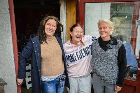 Hjelperingen, Line Johannessen, Unni Elisabeth Tafjord og Veronica Damira Prusac