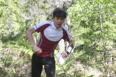 TALENT: Viljan van Raaj fra Hedrum OL er påp vei opp blant de beste i landet i yngre junior.