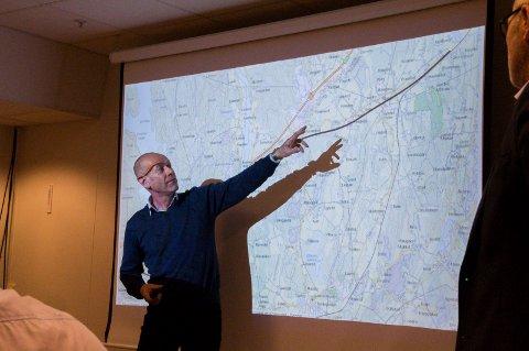 VRAKET BERGELØKKA – IGJEN: – Det er ikke mulig å etablere en stasjon med en så krapp kurve, fastslo Terje Grennes fra Norconsult i formannskapet onsdag.