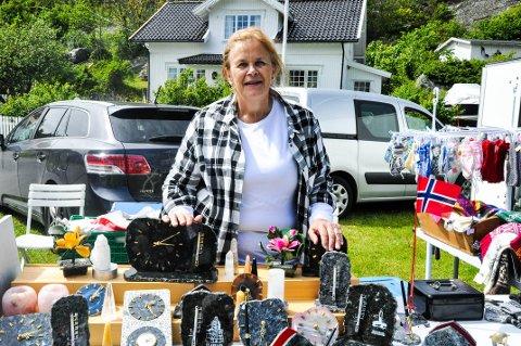INITIATIVTAKER: Merete Døvle. initiativtaker for Markedsdagen, forteller at det nærmer seg 15. gangen de arrangerer.