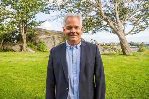 NUMMER 1: Erik A. Sørensen er ordførerkandidat for BedreLarvik.