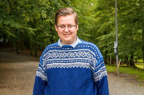 NUMMER 3: Sven Marius Gjeruldsen-Halle.