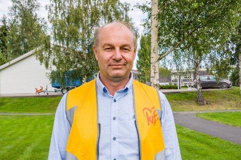 NUMMER 1: Olaf Holm er KrFs ordførerkandidat i Larvik.