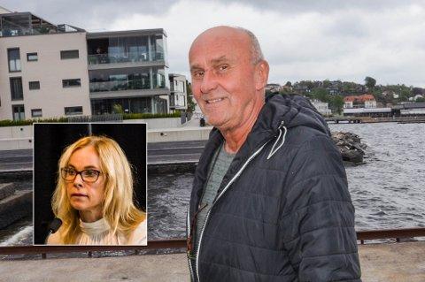 TAKK FOR SIST: – Gratulerer, Gulla Løken, skriver Øyvind Riise Jenssen i et Facebook-innlegg som vanskelig kan leses som noe annet enn et velplassert spark mot kvinnen som kastet ham ut i den politiske kulden tilbake i 2011.