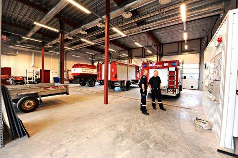 TRUET: Beredskapen ved Hvittingfoss Brannstasjon kan bli dårligere når Holmstrand kommune varsler at de avslutter det interkommunale samarbeidet. (ARKIVFOTO: STÅLE WESETH)