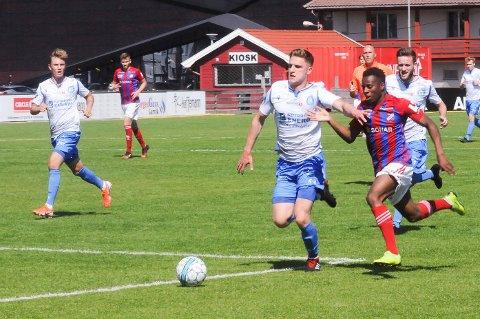 George Lewis Maniraghua har Tromsø og Tromsdalen som sine ungdomsklubber, og fikk sin debut i 1. divisjon med Tromsdalen i juni i fjor.