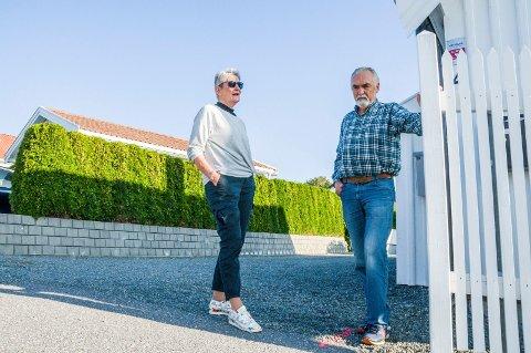 REAGERER: Tove Riiser-Larsen og Bjarne Borgersen fikk besøk av Telenor. Det kan koste dem dyrt.