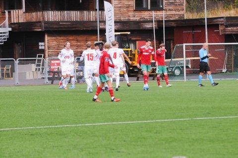 Tap: Halsen tapte 2-4 for FK Tønsberg hjemme i Bergeskogen lørdag ettermiddag.