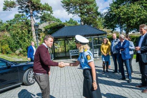Jøran Kallmyr på Politihøgskolen. Foto: Lasse Nordheim