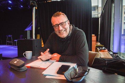VIL INFORMERE OG INSPIRERE: Trond Aarstad jr. inviterer til samling i Blåboksen i Bølgen, der han har med seg flere godbiter fra fjorårets høydepunkter - og vårnyheter.