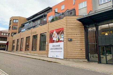 NYTT: Biblioteket skal snart åpnes i disse lokalene i Nansetgata. Det blir god plass, mange ulike «soner» og skal innby til aktivitet.