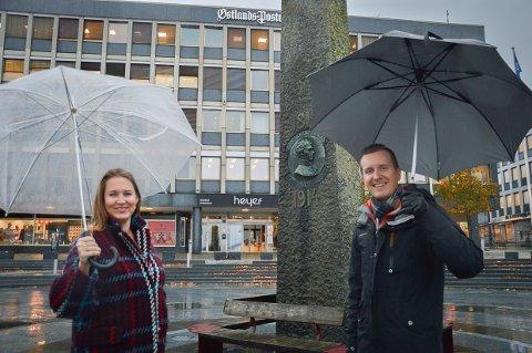 Camilla Fjellvik Paulsen og Ole Sannes Riiser