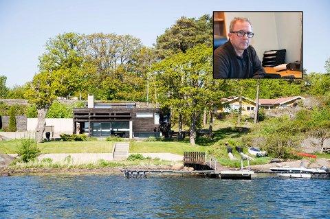 HENLAGT: Anmeldelsen mot Arne Nicander om ulovligheter utført på hans tidligere hytte på Lamøya er nå henlagt av politiet.