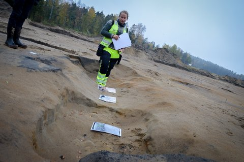 Arkeologiske utgravninger Askeskogen