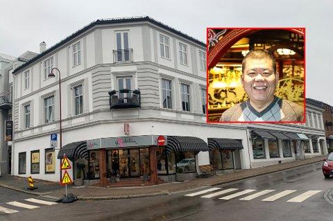 EIENDOMSKRØLL: Lin Hu Zhang vil ha bruksendring på en seksjon han eier i Kongegata. Han innrømmer at det i en kort periode har bodd ansatte ved China City AS i næringseiendommen.