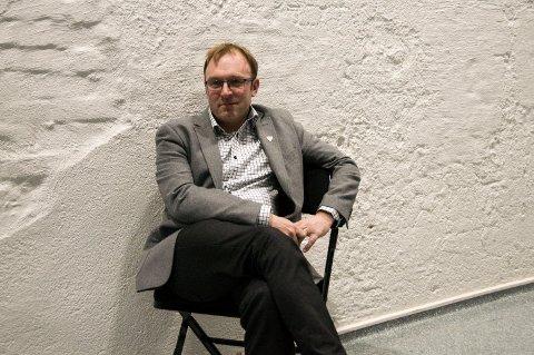 SUNN FORNUFT: Aps Andre Lysnes håper på mer bruk av sunn fornuft i bygg og plan i framtiden.