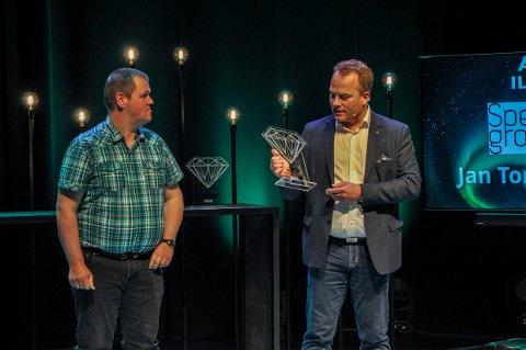 HAR STÅTT PÅ: Jan Thore Lauritzen fra Spesialgrossisten AS ble kåret til årets ildsjel av juryen.