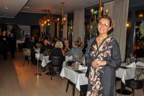Hotellsjef Lilly Skow Røed forteller at restauranten Havmannen planlegges utvidet.
