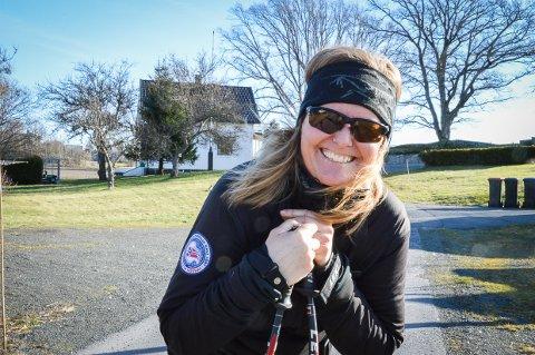 FINNMARK PÅ TVERS: Camilla Grimsæth er friskmeldt av kreftdiagnosen og skal gå 90 kilometer på ski fra Alta til Karasjok for å samle inn penger til kreftforskning.
