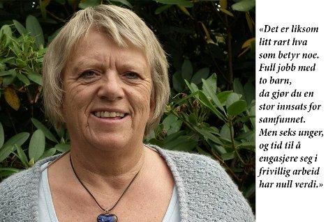 VINNERINNLEGGET: Laila Brandsdal Johnson skrev leserinnlegget som ble plukket ut som vinnerinnlegg i forbindelse med årets kvinnedag.