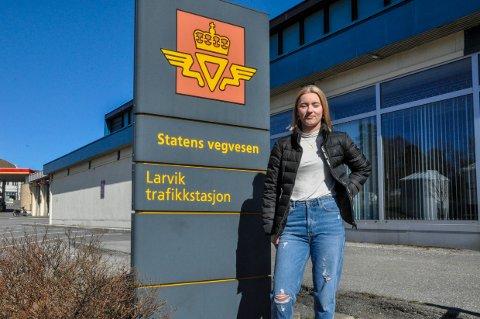 MULIGHETER: Rebecha Valstad Michelsen og mange andre får nå mulighet til å kjøre opp. Men det kan ta litt tid for noen.