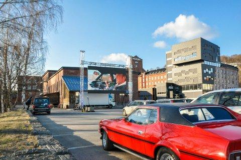 SNURR FILM: Det blir en ny runde med drive-in kino utenfor Sliperiet neste helg.