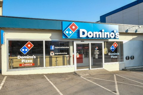 FORTSATT STENGT: – Vi sitter nå og prøver å planlegge en oppstart, sier Domino's-sjef Rolf Stavnem.