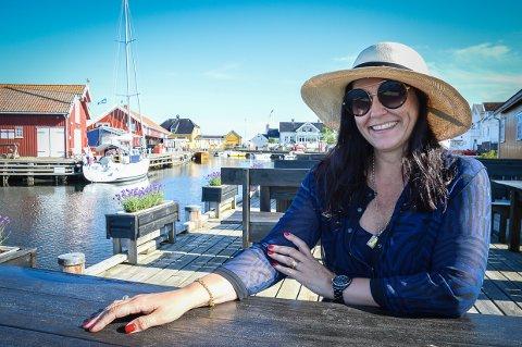 PARADIS PÅ EKTE: Da Kristin Hjellegjerde så bilder fra Rekefabrikken i Nevlunghavn, bestemte hun seg for at her ville hun ha sitt fjerde galleri!