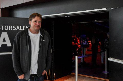 FAST JOBB: Andreas Gilhuus fortsetter som daglig leder i Bølgen kulturhus etter en utlysningsrunde.