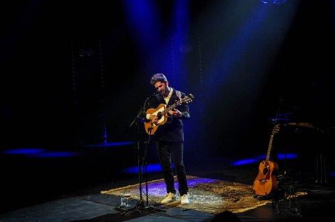 TILBAKE PÅ SCENEN: Thomas Dybdahl holder fire konserter på Bølgen denne helgen.