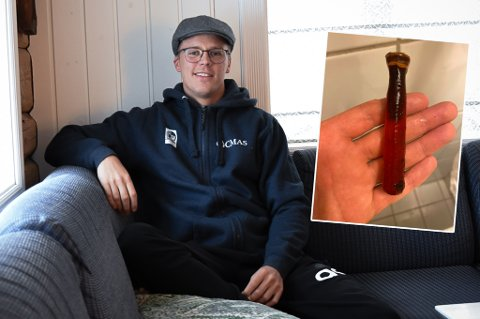 MYSTISK: Martin Støland Hansen fant noe mystisk på havets bunn. Så mystisk at bombegruppa fra politiet kom. (arkivfoto)