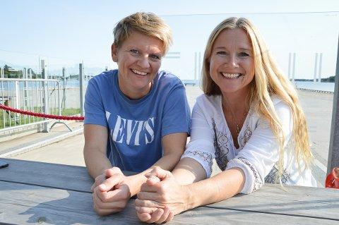 KLARE: Trine Merete Sjølyst og Tine Østby har snekret sammen en stødig grunnmur for en spennende historisk produksjon.
