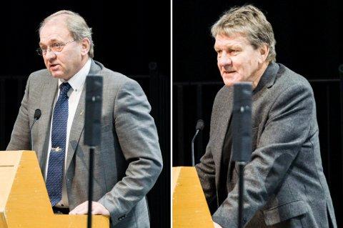 HABIL ELLER IKKE? Gunnar Eliassen (SV) mener Per Manvik (Frp) ikke kan være med å behandle Larvik kommunes arealplan. Men flertallet i kommunestyret slo fast at Manvik er habil.