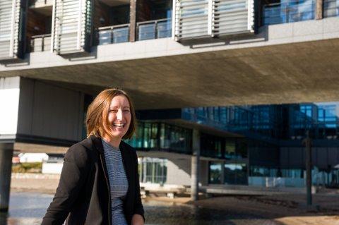 IKKE STENGT LENGER: Hotelldirektør Ane Johansen er glad for at nedstengingen ikke ble langvarig.