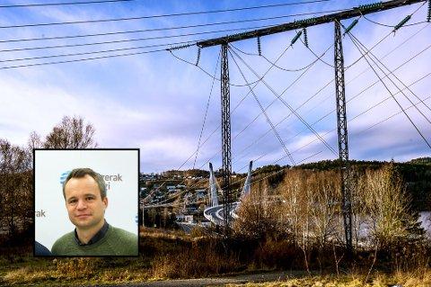DYRT: Det er skyhøye priser på strøm om dagen. Andreas Billington i Skagerak Kraft AS forklarer hvorfor.