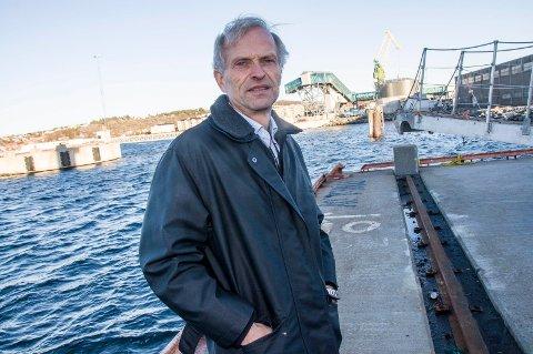 IKKE UVENTET: - Dette har vi visst i et år allerede, sier havnesjef Jan Fredrik Jonas.