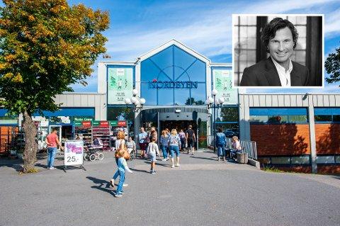 NY EIER: Som en av fem investorer i det nye kjøpesenterselskapet Aurora Eiendom, vil Petter Stordalen nå bli eier av Nordbyen kjøpesenter.