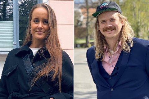 BLANT KANDIDATENE: Bettina Olie Bjerkholdt og Kristian Bålsrød har søkt på jobben som kommunikasjonsrådgiver i Larvik kommune. Det har også 23 andre.