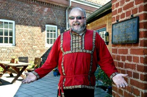 POPULÆR: Kai A. Hobæk holdt mange konserter i Larvik på 80-, 90- og 2000-tallet. Nå er han død, 63 år gammel.
