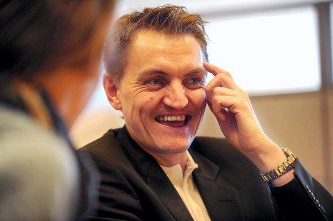 TILBAKE I BILBRANSJEN: Miljøpolitiker Henrik Mohn er tilbake i bilbransjen. (Foto: Anita Høiby Gotehus)