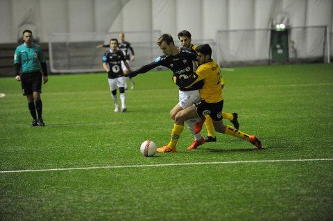 MÅLSCORER: Adnan Cirak scoret i Elverums første treningskamp for sesongen.