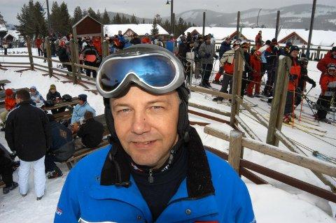 ADVARER: Jan Linstad, driftssjef i Skistar Trysil, advarer folk om å oppholde seg alene i de mest skredutsatte områdene av Trysilfjellet.