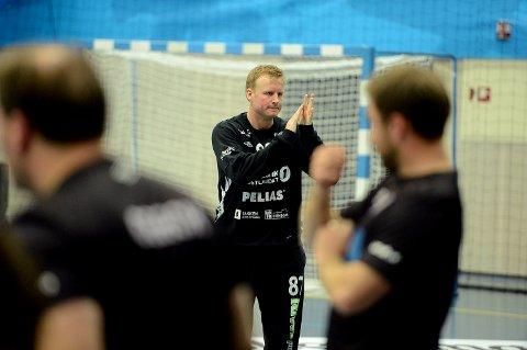VIKTIG: Morten Nergaard plukket mange viktige baller i kampen mot FyllingenBergen.