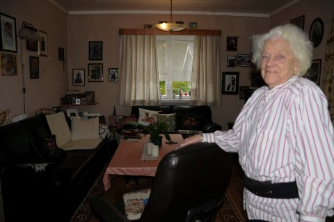 SPREK: Kjellborg Glomsvoll  fylte 103 år onsdag.