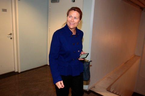 Tidligere forsvarsminister Grete Faremo (Ap) måtte forklare hvorfor den rødgrønne regjeringen satte fristen for objektsikringsarbeidet til så tidlig som 2015 tilbake i 2010. Dagens regjering er langt etter den fristen. Foto: Lise Åserud / NTB scanpix