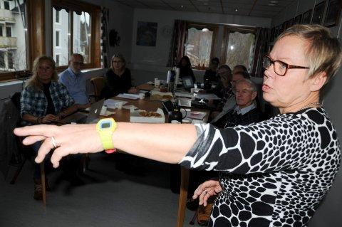 IKKE INHABIL: Leder Marit Gilleberg er leder for Kontrollutvalget i Tolga.