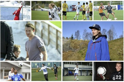 MANGE KJENTE: Hele 10 spillere har spilt både for Nybergsund og Elverum. Øverst f.v.: Morten Sætra (Elverum), Jonas Enkerud (Elverum), Emil Hatten Engerbakk (Elverum), Erlend Eggen Persgård (Elverum), Eivind Holte Tøråsen (Elverum), Kristian Bråtebæk (Nybergsund), Stian Lund (Elverum), Vegar Granvold Berntsen (Elverum), Ole Jørgen Rølsåsen Berg (Nybergsund) og Magnus Aas (Nybergsund) Foto: Østlendingen