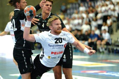 SOLID: Endre Langaas leverte nok en sterk kamp i Elverum-trøya.